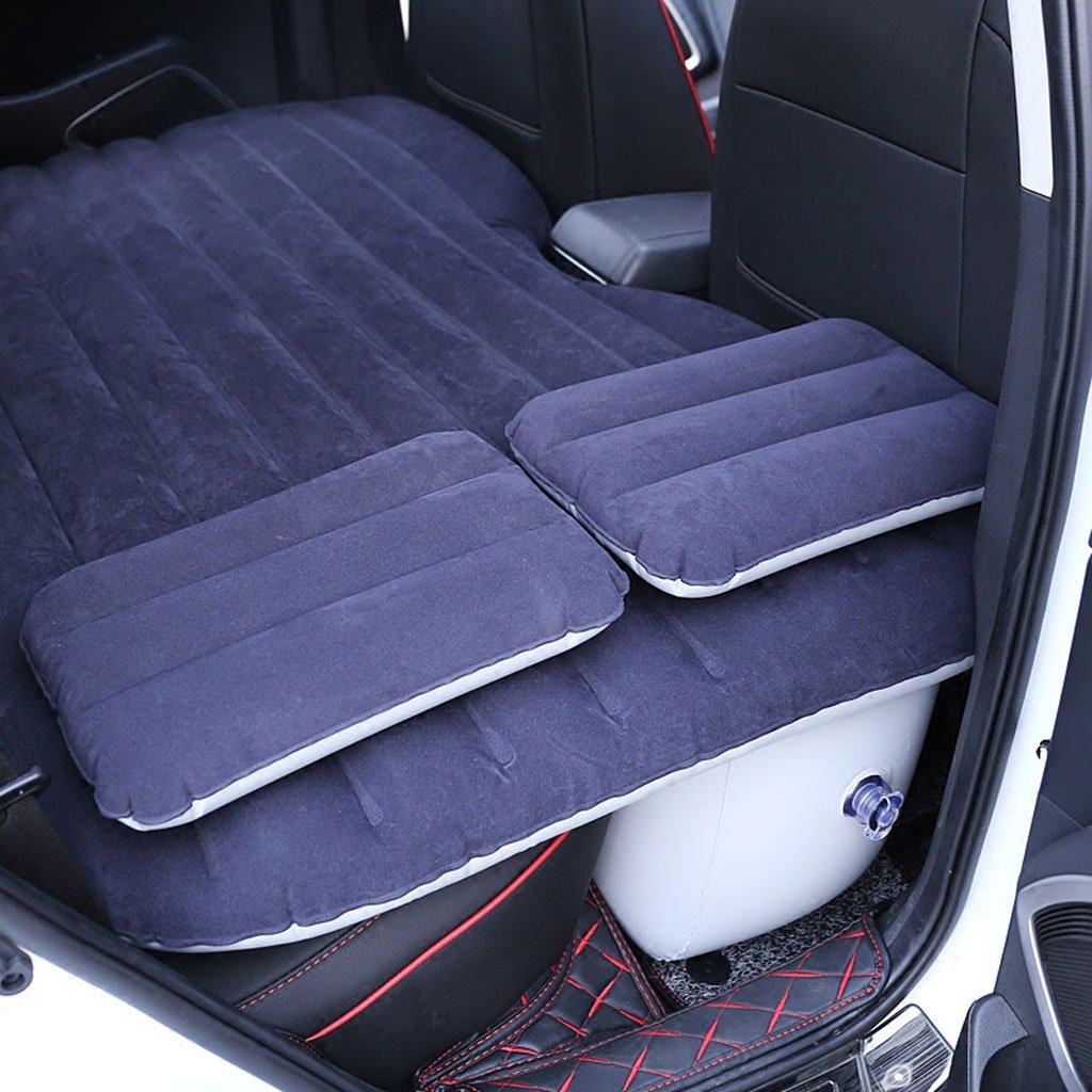 自動車インフレータブルベッドカーマットレスリアトラベルベッドリアシートクッションエアクッションカーベッド B07DS1D9PY パープル ぱ゜ぷる パープル ぱ゜ぷる