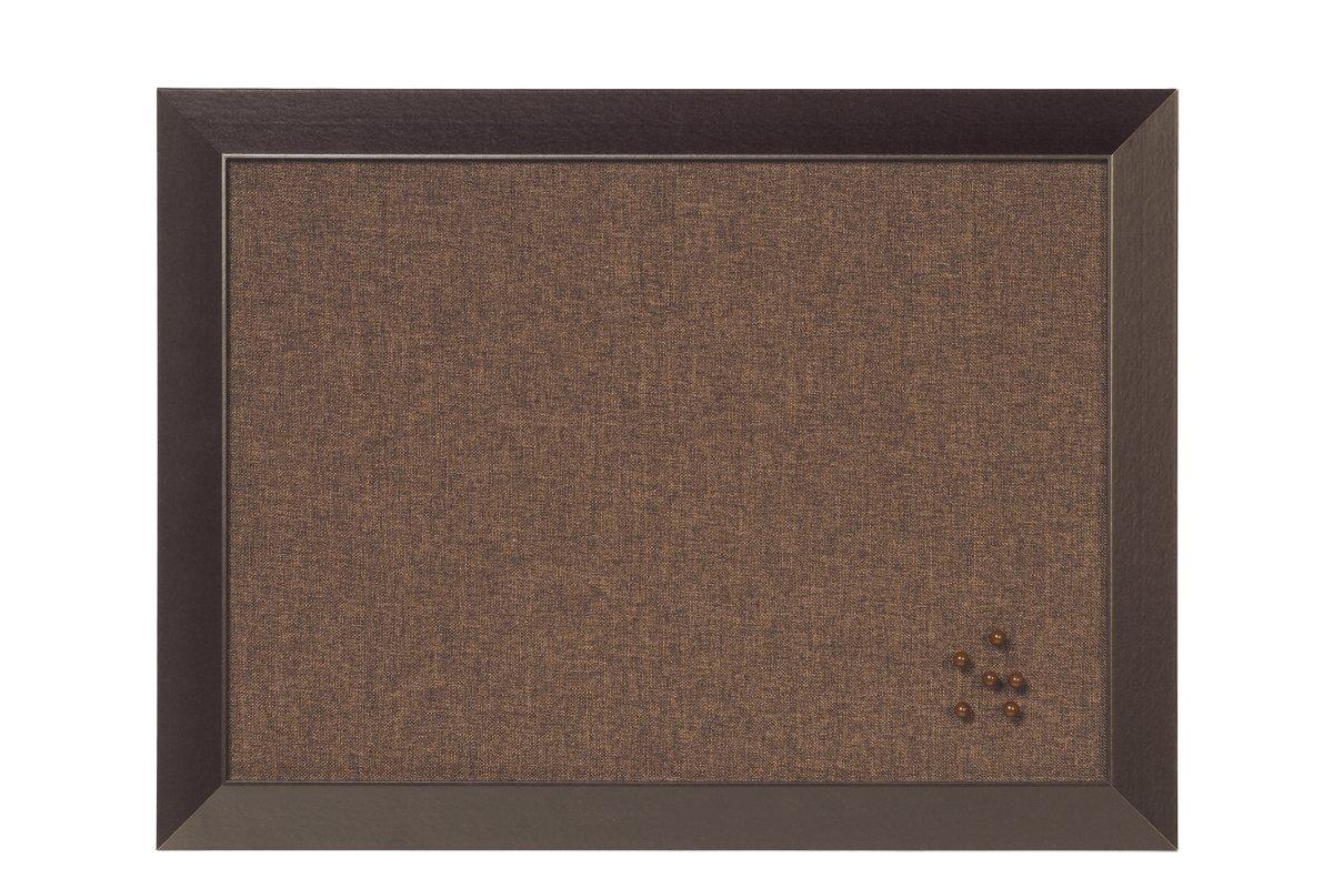 Cornice in MDF Bi-Office Pannello Per Avvisi Kamashi Medina In Tessuto Rosso 60x45 Bacheca Per LUso Con Puntine