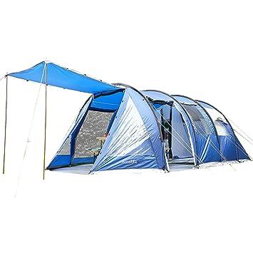 Skandika Tiendas de campaña, Zelt Canyon II, Blue, 570x320 cm, Azul clarito, 570 x 320 cm: Amazon.es: Deportes y aire libre