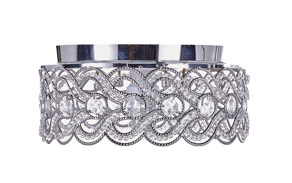 Pendant Hanging or Flush Mount Ceiling Lighting Fixture Diamond Life Chrome Finish Modern Crystal Chandelier 166