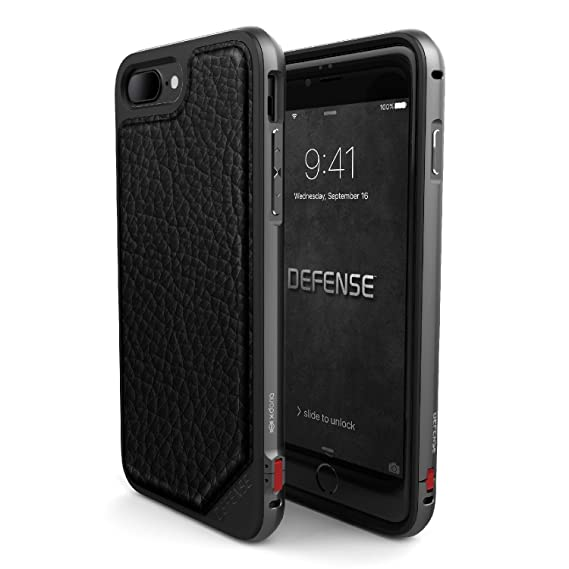huge discount 1a924 04a65 X-Doria iPhone 7 Plus Case, Defense Lux Series - Military Grade Drop  Tested, Anodized Aluminum, TPU, and Polycarbonate Case for Apple iPhone 7  Plus, ...