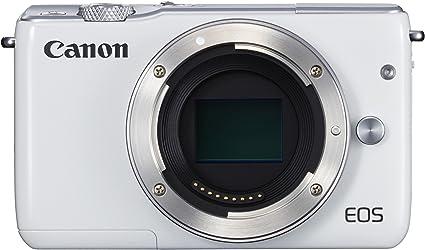 Canon EOS M10 - Cuerpo de cámara Digital compacta de 18 MP (CMOS ...