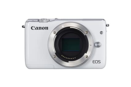 Canon Eos M10 Dslr Camera   White  Body Only  Digital Cameras