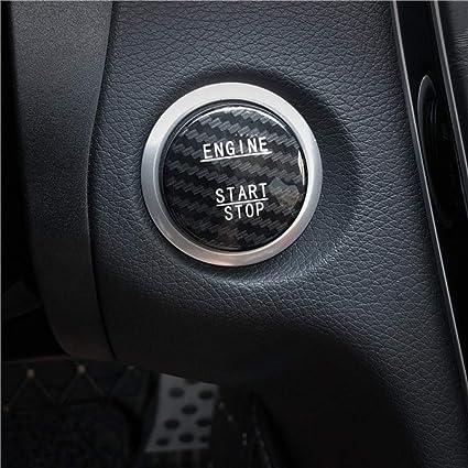 Car Pro For Mercedes Benz C Class Glc C200l Genuine Carbon Fibre One Button Start Button Decorative Sticker Ignition Key Protective Cover Baumarkt