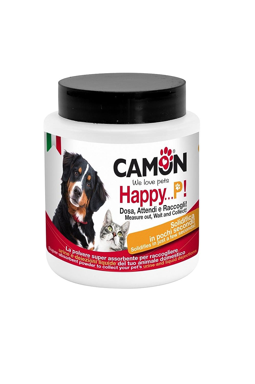 Happy P! Poudre super absorbante pour éliminer l'urine des chiens et des chats Camon