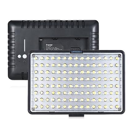 Lepeuxi Travor TL-120 - Luz de vídeo LED Regulable (700 lúmenes ...