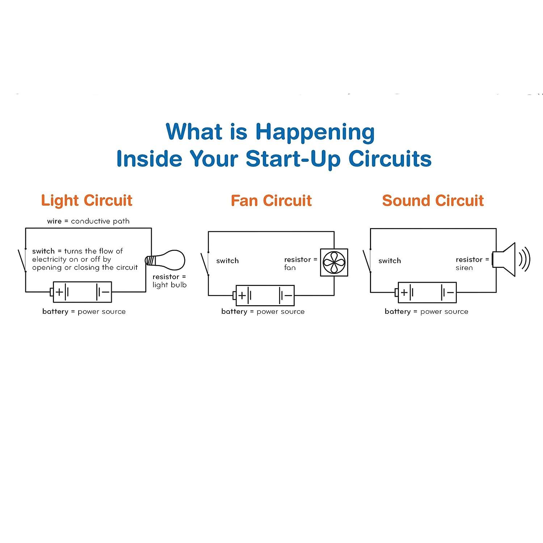 Start Up Circuits Toys Games Diy Electronic Siren Circuit Diagram