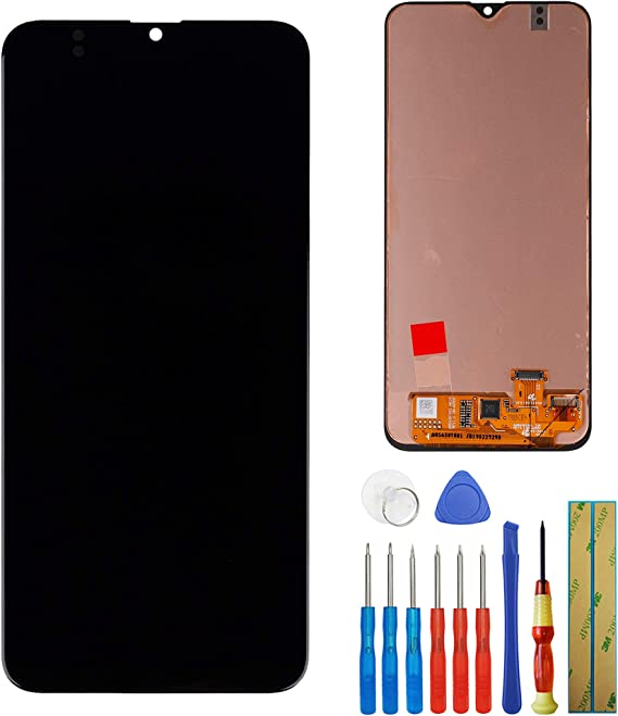 Amazon Com New Super Oled Screen Compatible With Samsung Galaxy A20 2019 Sm A205 A205f Lcd Touch Screen Display Assembly Tools Black