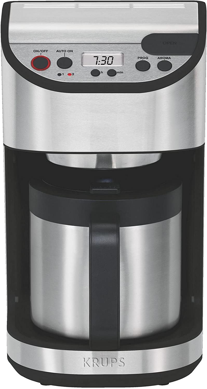 Krups YY8304, LCD, Negro, Plata, 1100 W - Máquina de café: Amazon.es: Hogar