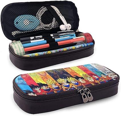 Dragon Ball Z Goku - Estuche para lápices, gran capacidad, estuche para lápices, estuche para lápices, estuche con varios compartimentos para niños y niñas: Amazon.es: Oficina y papelería
