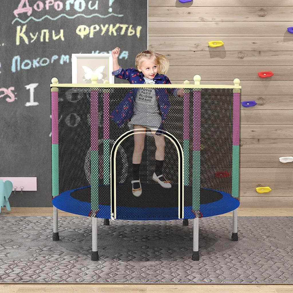 GXYGWJ Trampoline et Filet de Protection Enfants de la Famille de Trampoline Enfants int/érieur Petit lit de Rebond Trampoline