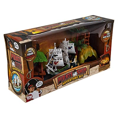 4pc PIRATE ADVENTURE SET: Toys & Games