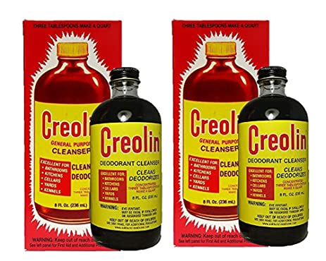 Creolin General Purpose Cleanser, Cleans And Deodarizes 3 Oz, 6 Pack Martinni Beauty Masks Coenzyme Q10 Collagen Mask
