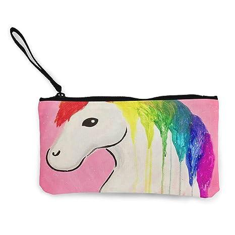 Amazon.com: Monedero de pintura de girasol para niñas con ...