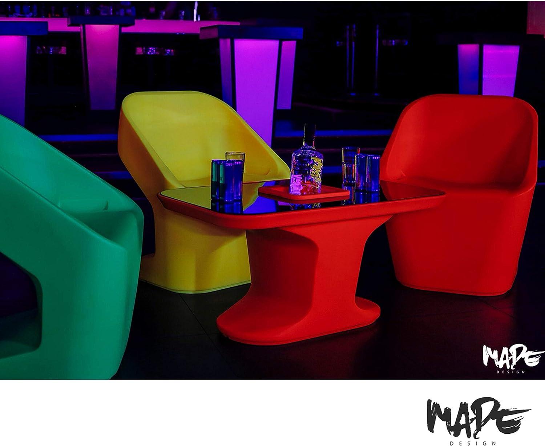 Viola . Made Design Josephine Poltrona Lounge Chairs per Interni ed Esterni in plastica di Alta qualit/à Moderna e futuristica Organica Comoda Disponibile Anche in Altri Colori