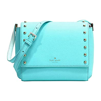 82fe32019 Image Unavailable. Image not available for. Colour: Kate Spade Sanders  Place Avva Leather Crossbody Bag Blue