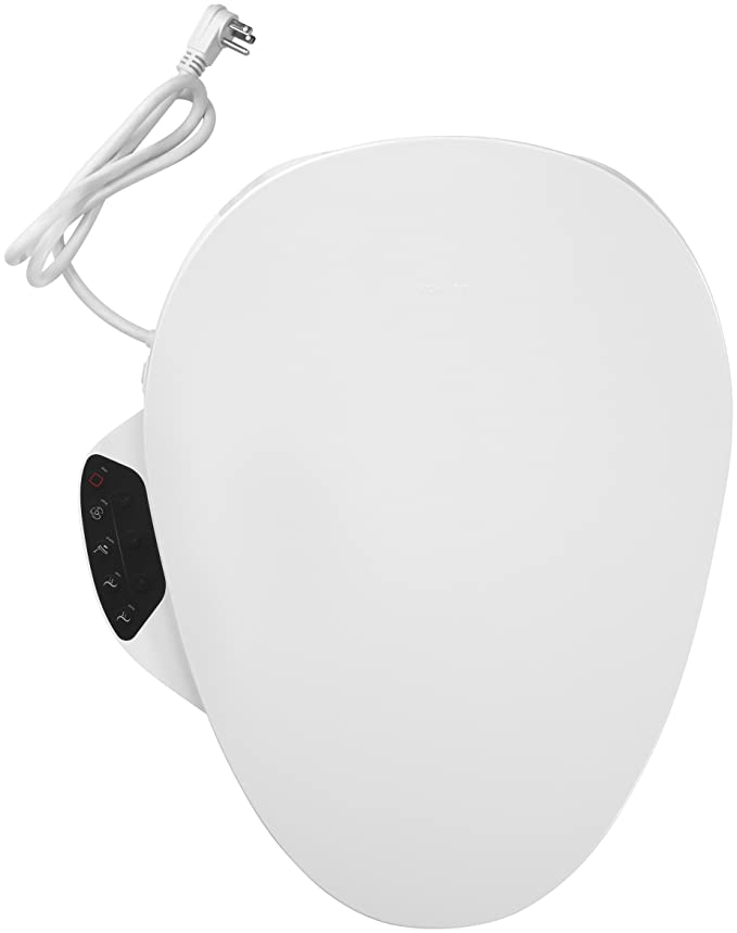 Cool Kohler Electric Bidet Toilet Seat Touchscreen Remote Control Heated Seat Automatic Deodorization And Nightlight K 4108 0 White Machost Co Dining Chair Design Ideas Machostcouk