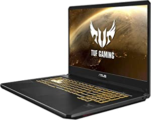 "Asus TUF Gaming Laptop, 17.3"" Full HD IPS-Type, AMD Ryzen 7 3750H, GeForce GTX 1660 Ti, 16GB DDR4, 512GB PCIe SSD, Gigabit Wi-Fi 5, Windows 10 Home, TUF705DU-PB74"