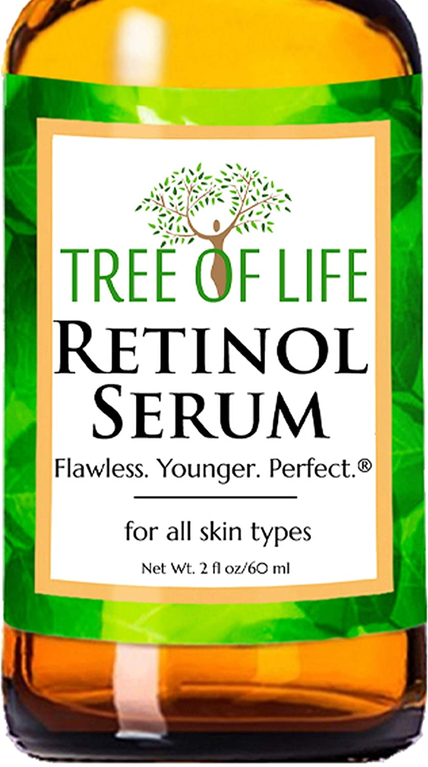 Retinol Serum for Face and Skin DOUBLE SIZE 2oz Anti Aging Serum Clinical Strength