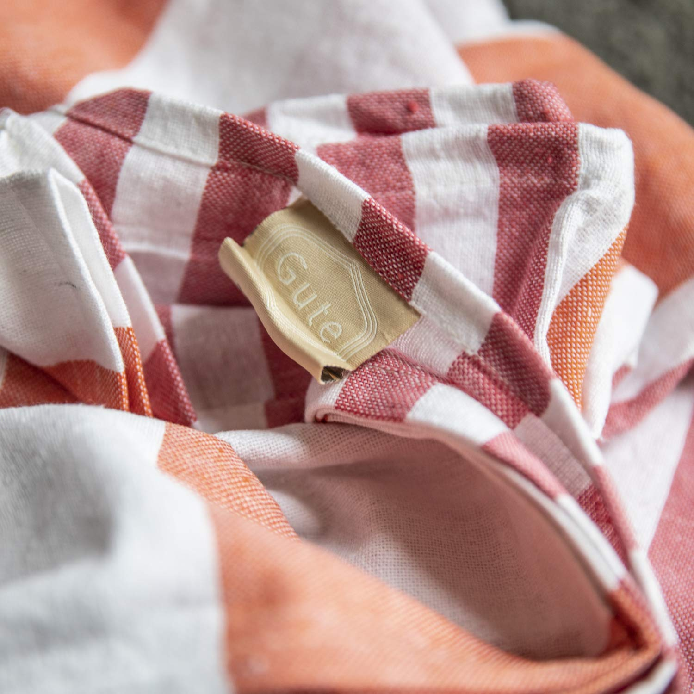 Gute (Set of 6) XXL Turkish Cotton Bath Beach Hammam Turkish Towel Sets Peshtemal Throw Fouta Blanket Set, Luxuries Towels by Gute (Image #5)