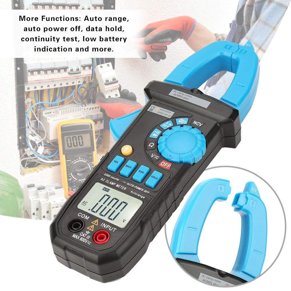 Multimetro multimetro a pinza digitale a portata automatica 1999 conta misuratore di resistenza corrente AC