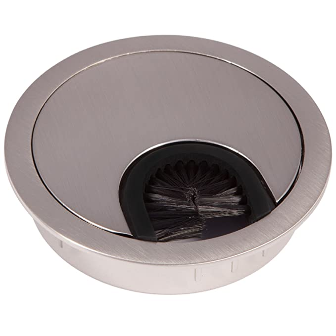18 opinioni per 2 x SO-TECH® Passacavo Rosetta Passacavo in Metallo Superficie Acciaio Inox! –