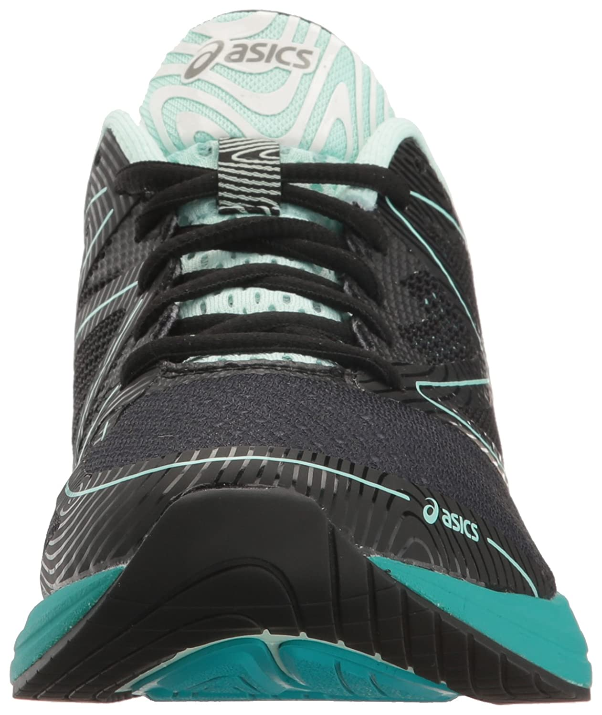 ASICS Women's Noosa FF Running Shoe B01GSRXPIM 9 B(M) US|Black/Bay/Viridian Green