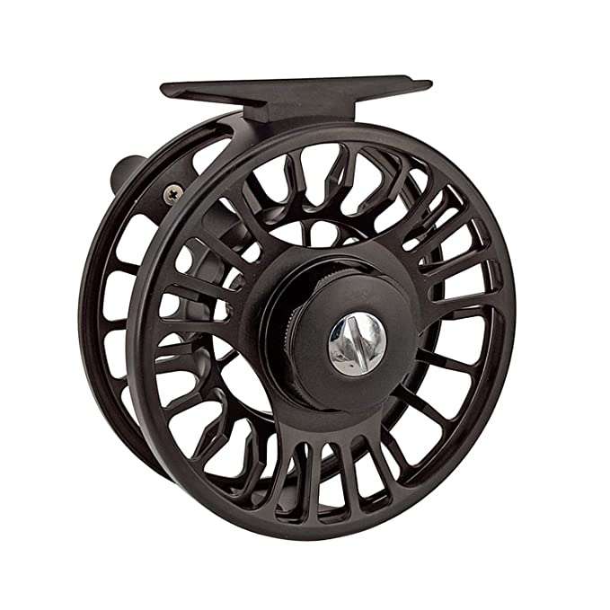 Amazon.com : Riverruns Z Fly Fishing Reel Super Light CNC Machined Second Generation Sealed Carbon Disc Super Larger Arbor 3/5, 5/7, 7/9 Ideal Both Fresh ...