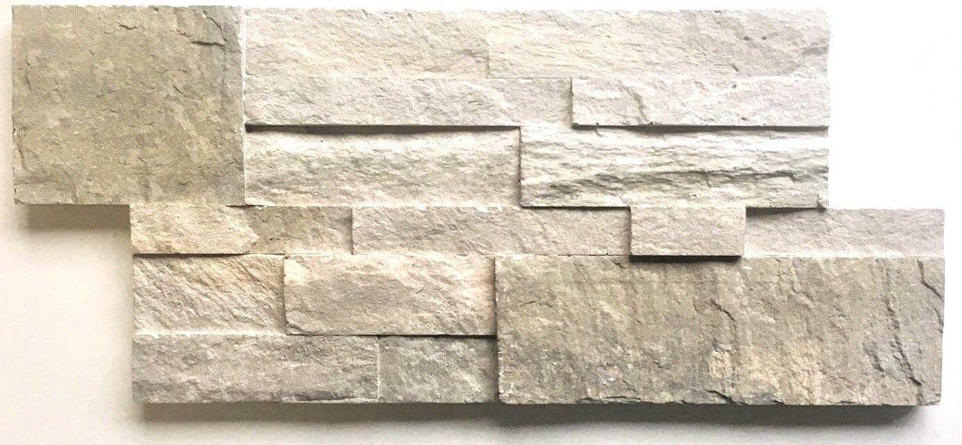 6.75 x 14 Squarefeet Depot InstaFix (TM) Stone Cladding Quartzite Provence Chateau Peel and Stick Wall Covering