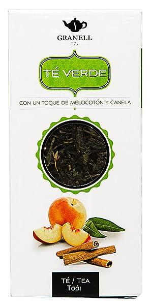 Granell Verde Melocotn y Canela T - 100 gr - [Pack de 6]