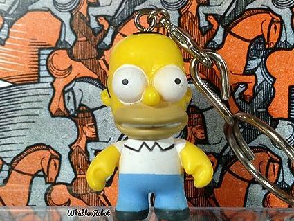 New Kid Robot Simpsons Keychain Blind Box