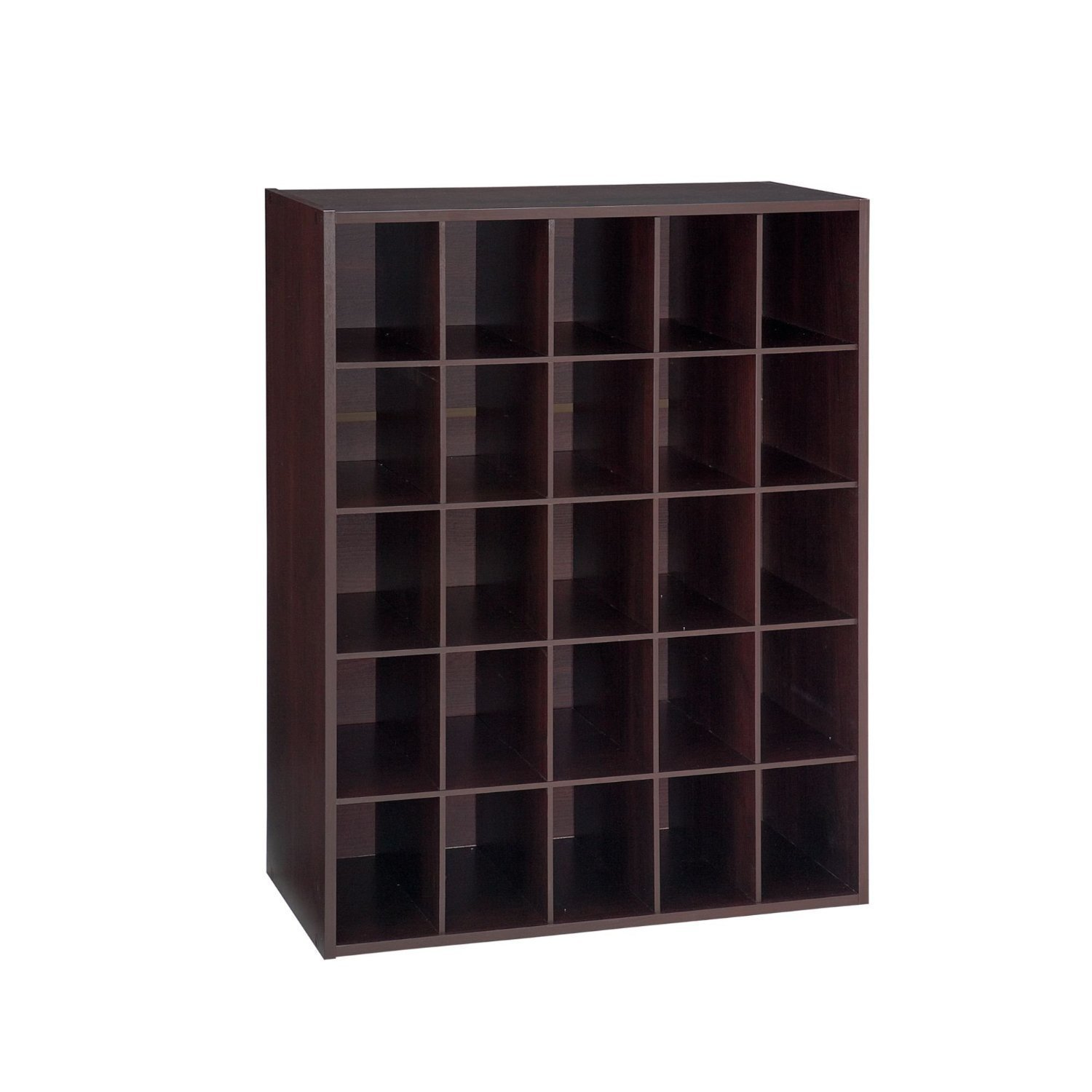 closet shoe organizer storage cabinet cube 25 pair