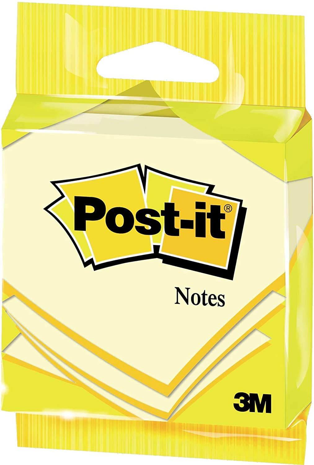 Post-it 27002 Flow Pack Appendibile di Foglietti, 100 Fogli, 72 G/M2, Giallo Canary 6820GB