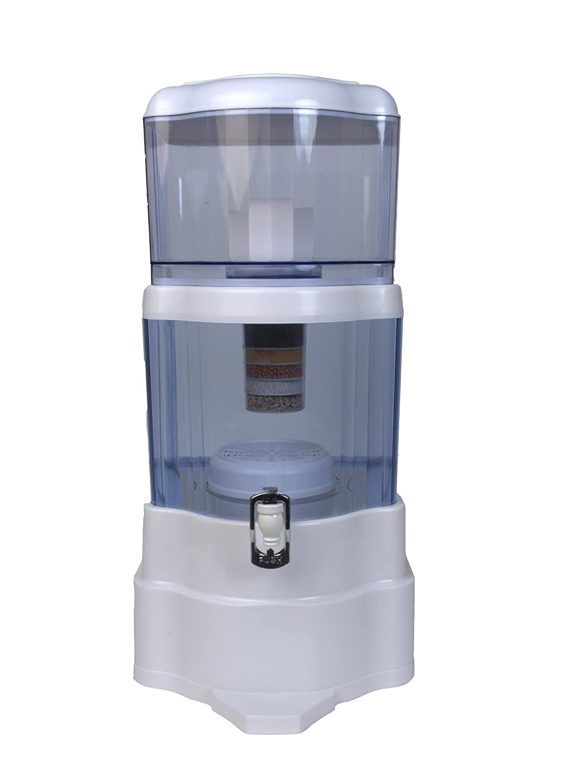 Best water filtration system for well water - Zen Water Systems 4 Gallon Countertop Water Filter System