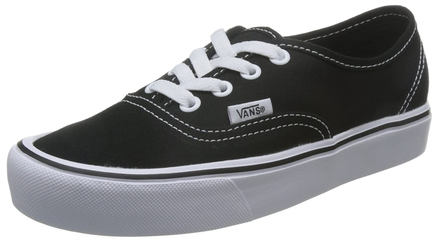 Vans Zapatos Authentic Lite Negro-Blanco 36.5 EU|Negro (Canvas)