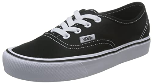 Nero 47 EU Vans Authentic Lite Sneaker UnisexAdulto Canvas Scarpe 42s