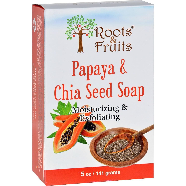 Amazon.com: Roots & Fruits – Bar Jabón – Papaya y Chia ...
