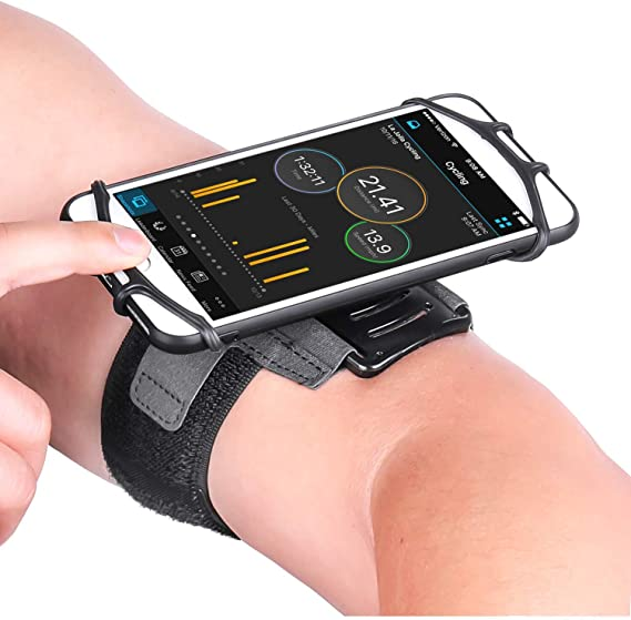 3.5 to 6 inch Amtake 180/° Rotatable Armband // Wristband Phone Holder for Running Hiking Biking- Universal Size for iPhone X 8 8 Plus 7 Plus 6s Plus 6 Plus Google Pixel Galaxy s8 s7 s6 Edge LG G6 G5