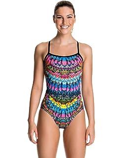 e06b0d2ce1 Funkita Crown Princess Women's Swimsuit: Amazon.co.uk: Sports & Outdoors