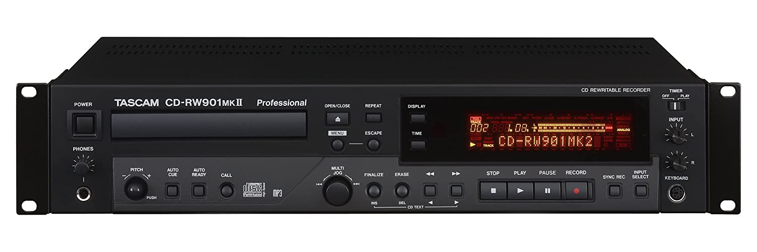 Tascam Professional CD Recorder\Player #35;CD-RW901MKII