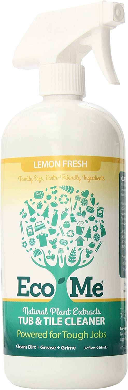 EcoMe Tub & Tile Cleaner, Lemon Fresh, 32 oz