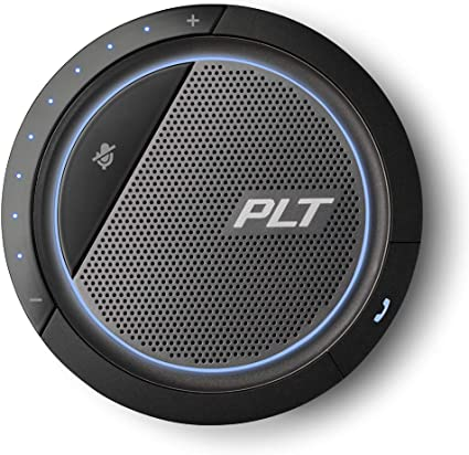 Plantronics Calisto 5200 Usb C 3 5 Mm Konferenzgerät Mit Mikrofon Und Lautsprecher Audio Hifi