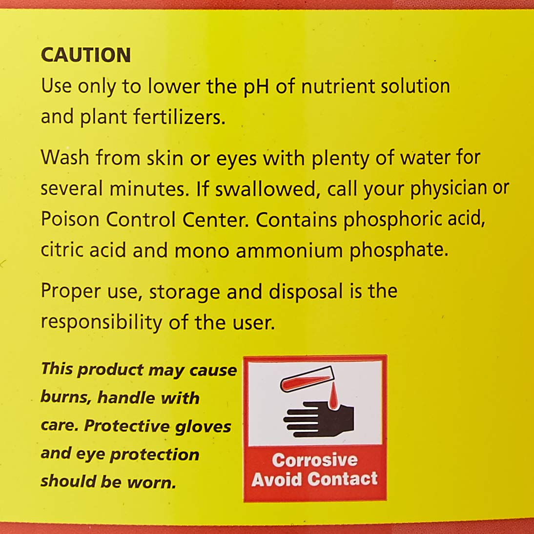 Amazon com: General Hydroponics pH Down Liquid Fertilizer: Garden