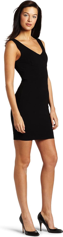 Three Dots Women's Open V-Neck Dress
