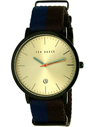 96a3d0b6b Image Unavailable. Image not available for. Color  Ted Baker Men s 10026451  Gift Set Analog Display Japanese Quartz ...