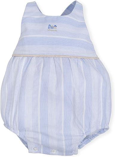 Tutto Piccolo 6885S19 Ropa para Bebé Niño o Niña Ranita Mono Peto Tricot de Algodón (Tallas de 0 a 24 Meses), Color Azul: Amazon.es: Ropa y accesorios