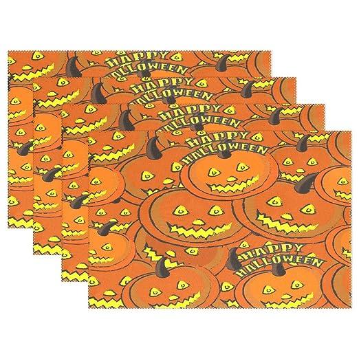 Promini Feliz Halloween calabaza comedor cocina decoración mantel ...