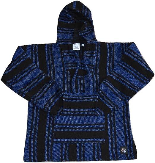 Jerga Shirt New Larger size XXXXL Original Baja Hoodie from Mexico