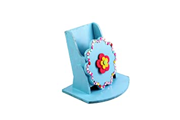 Buy Funtrunk Wooden Mobile Stand Art Craft Material Online At