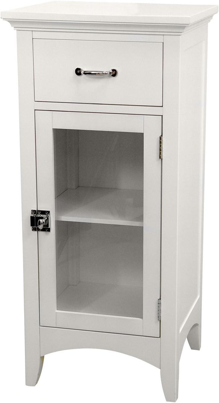 Amazon Com Elegant Home Fashions Madison Floor Cabinet One Size White Furniture Decor